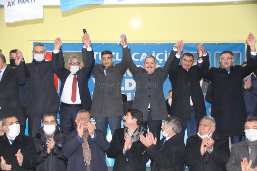 Ak Parti Tuzluca İlçesi  7. Olağan Kongresini gerçekleşti