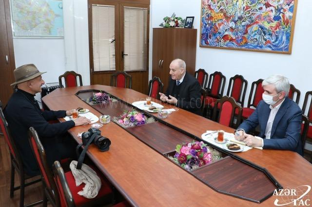 Ünlü fotoğrafçı Reza Degati: Cumhurbaşkanı İlham Aliyev hem diplomatik, hem bilgi yönünde yüksek düzeyde bir yönetim sergileyerek Azerbaycan'a zafer kazandırdı