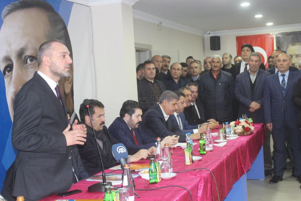 Erkan Kandemir'den Ak Parti Iğdır İl Başkanlığına Ziyaret
