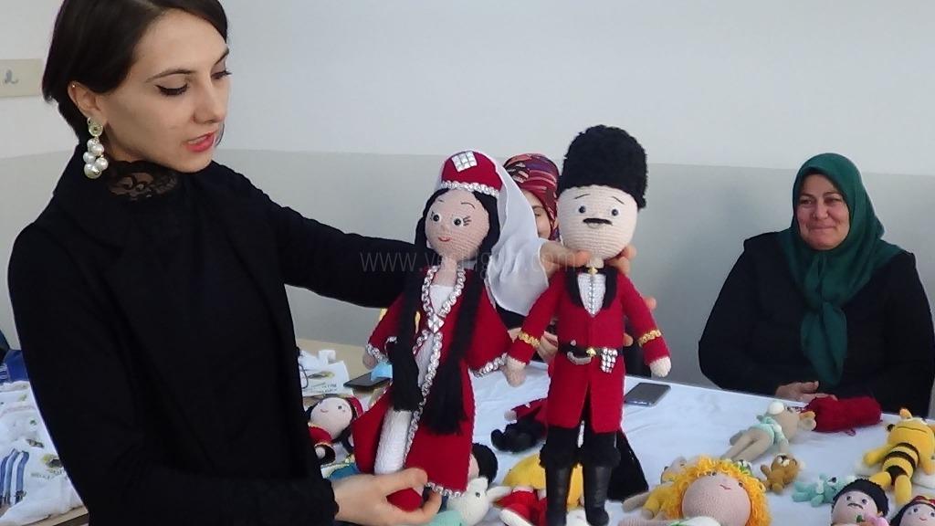 Amigurumi  kursuna kadınlardan yoğun ilgi