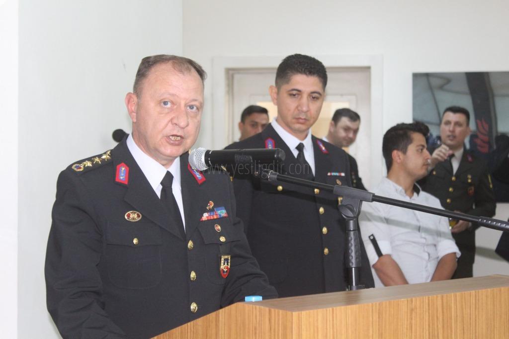 Jandarmanın kullandığı son teknolojiler tanıtıldı.