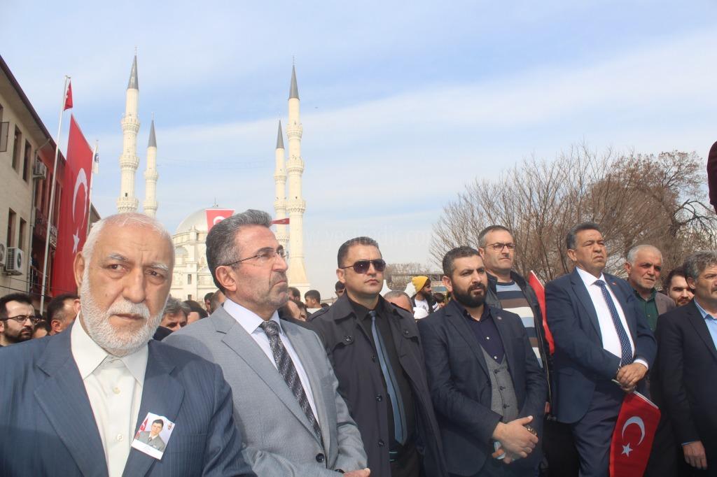 Alimler Birliği ile Müftülük'ten Mehmetçiğe Destek Mitingi