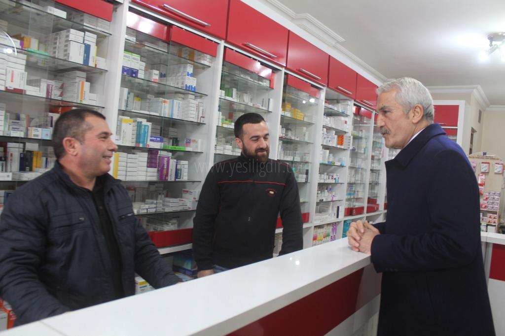 MHP Belediye Başkan Adayı  İsa Yaşar Tezel'den Esnaf Ziyareti