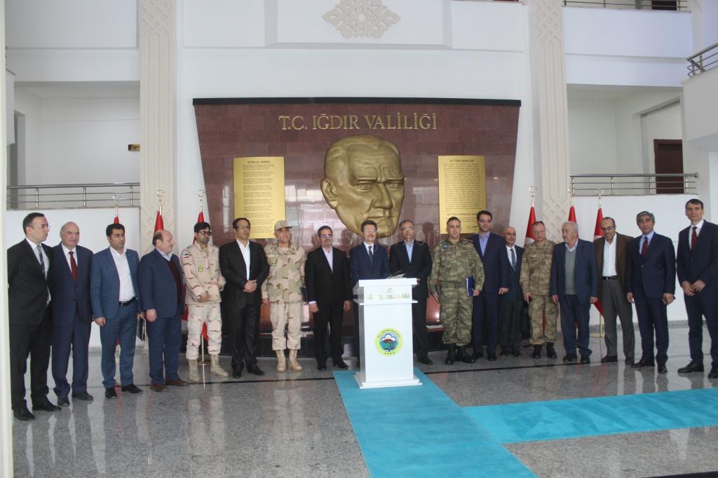 İran Heyeti İle 88. Alt  Güvenlik Toplantısı Gerçekleştirildi