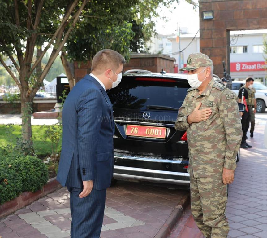 Erzurum 9. Kolordu Komutanı Iğdır Valiliğini Ziyaret Etti