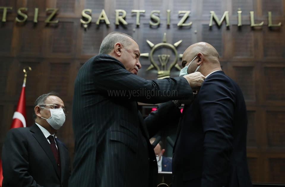 Saadet Partisi'nden İstifa Eden Belediye Başkanı Ahmet Sait Sadrettin Türkan AK Parti'ye Katıldı