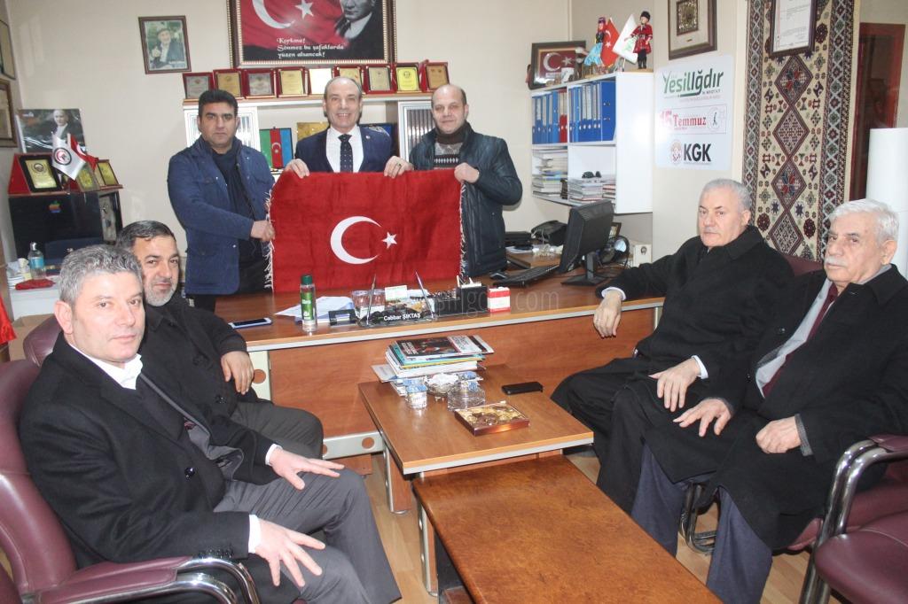 Ali Güner ve Abbas Gündüz'den Hayırlı Olsun Ziyareti