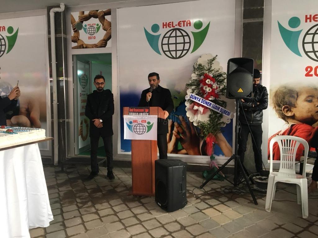 HEL-ETA Yardım Derneği Hizmete Açıldı