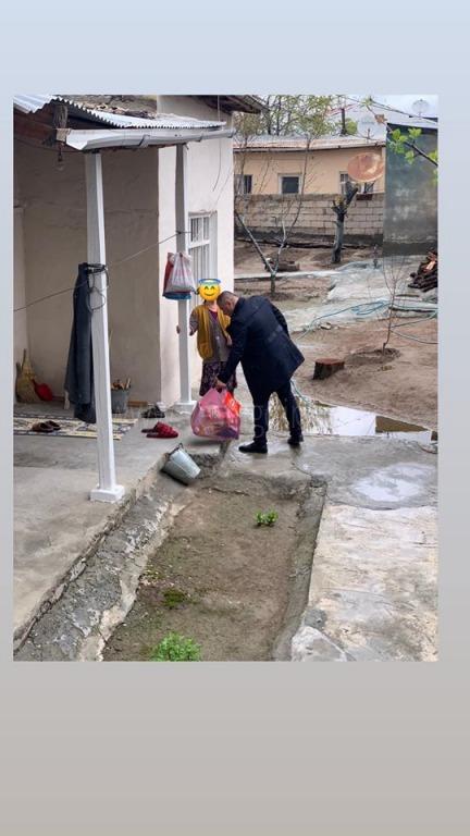 Başkan Eray Coşari' dan İhtiyaç Sahibi 300 Aileye Yardım