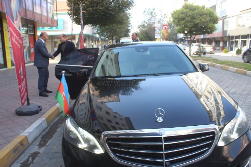 Başkonsolos Guliyev'den Nezaket Ziyareti