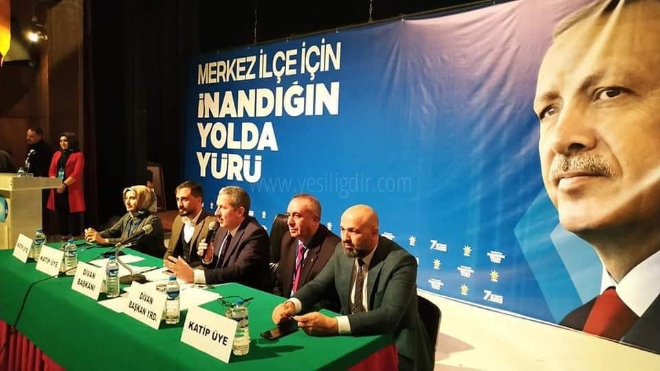AK Parti Merkez İlçe 7. Olağan Kongresini Yaptı