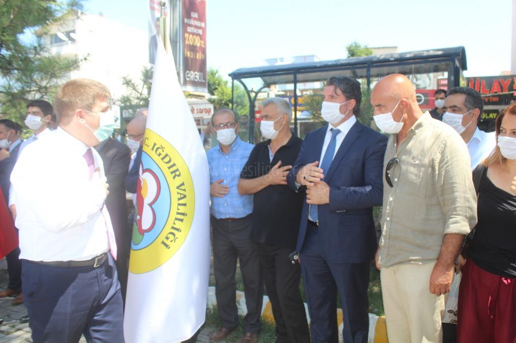 Vali/Belediye Başkan V. H. Engin Sarıibrahim, Kurban Bayramı öncesi Protokol ve valilik personeli ile bayramlaştı.