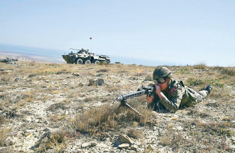 Birliğimiz düşmanlara gözdağıdır-Azərbaycanda özelikle de Nahcıvanda yapılan  talimler bunu bir daha ispat etti