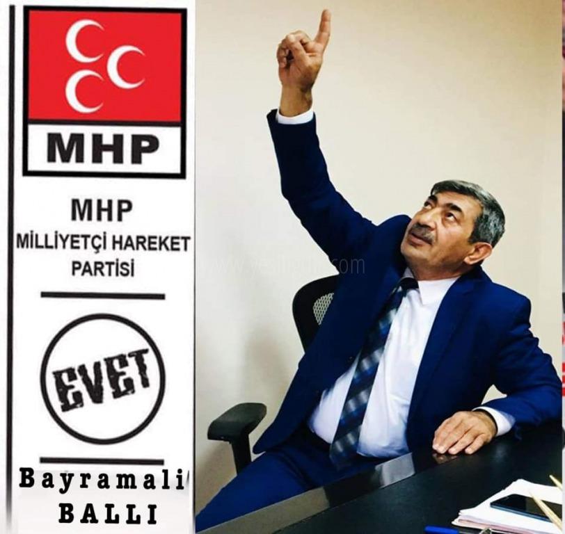 Seçimi MHP'li Belediye Başkan Adayı Bayramali Ballı Kazandı