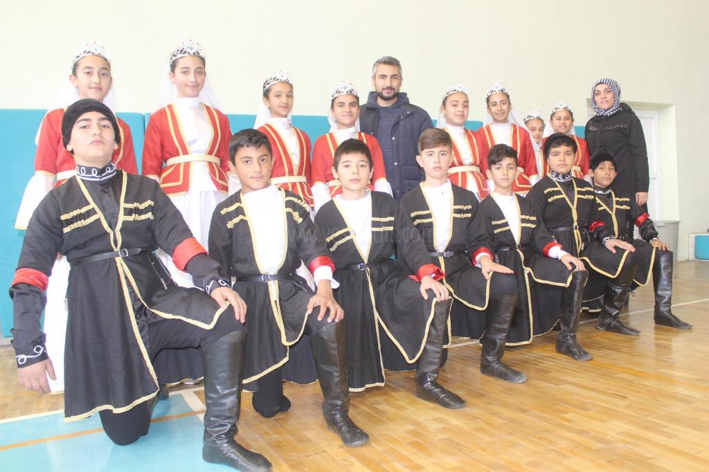 Iğdır'da Halk Oyunları Yarışması Sona erdi