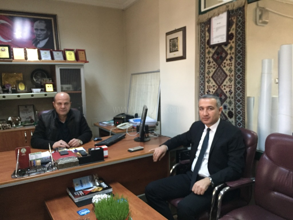 Dr. Alparslan Erol'dan Nezaket Ziyareti