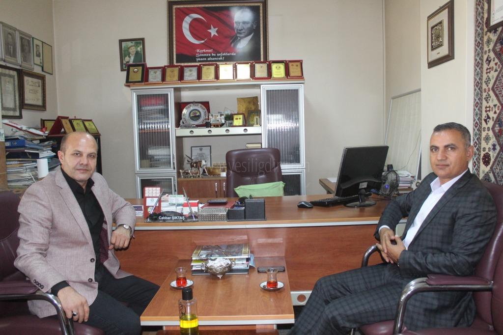 Belediye Başkanı Murat Yikit'ten Nezaket Ziyareti