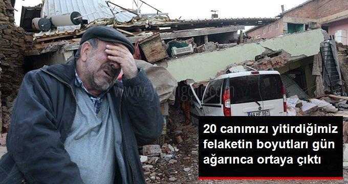 Son dakika: Elazığ'daki depremde ölü sayısı 20'ye yükseldi