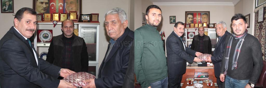 İl Emniyet Müdürü Orhan Çevik, Gazetecileri Ziyaret etti