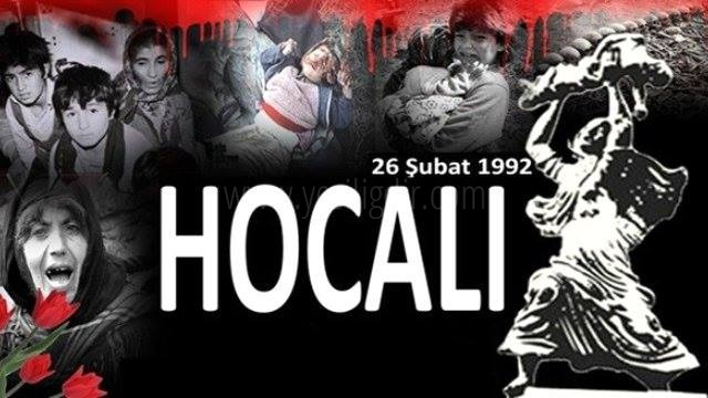HOCALI FACİASI  23 ŞUBAT CUMA GÜNÜ SAAT 10.00'DA ANILACAK