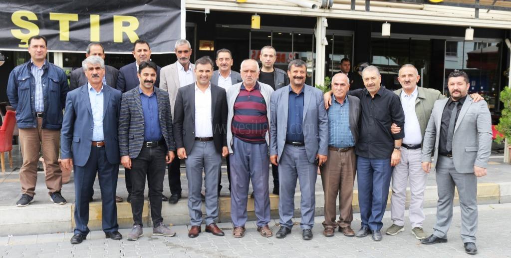 Iğdır Belediye   Başkanları  Muhtarlarla Kahvaltıda buluştu