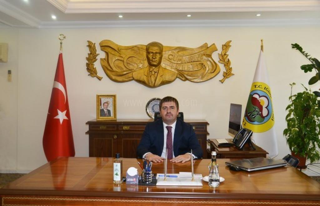 Vali/Belediye Başkan V. H. Engin Sarıibrahim, Covid-19'a Yakalandı