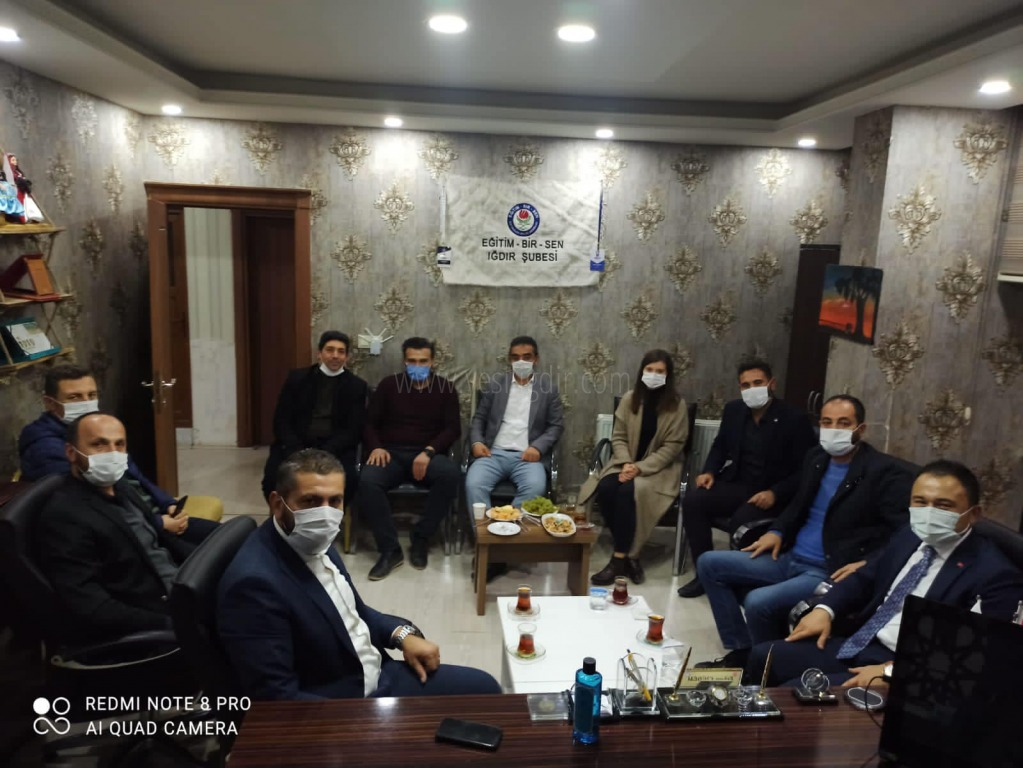 Vali Yardımcısı Yusuf Cankatar,  Eğitim-Bir-Sen'i Ziyaret  Etti