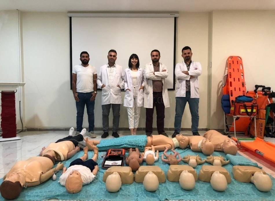 Iğdır Üniversitesi Sağlık Bakanlığından  İlkyardım Eğitici Eğitimi Düzenleme Yetkisi Aldı