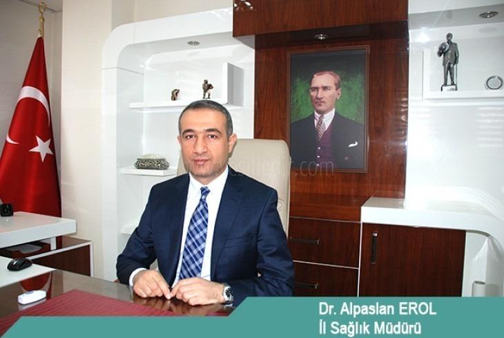Iğdır İl Sağlık Müdürü Dr. Alpaslan EROL' un Gaziler Günü Mesajı;