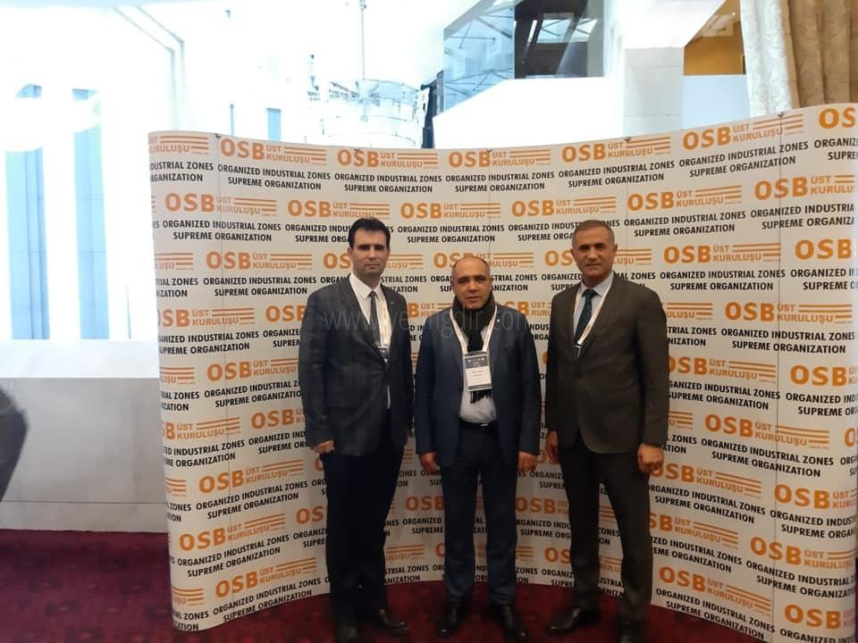 Başkan Arslan, 7.OSB  Enerji Zirvesine katıldı