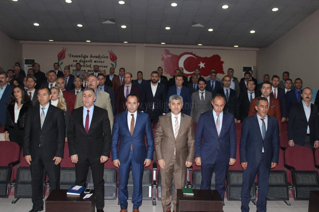 Milli Eğitim Müdürü Ercan Budanur Okul Müdürleri İle Toplantı Yaptı