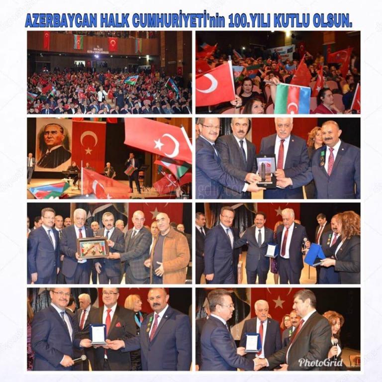 TEŞEKKÜRLER TÜRKİYE TEŞEKKÜRLER IĞDIR CAN AZERBAYCAN'IN 100. YILI KUTLU OLSUN