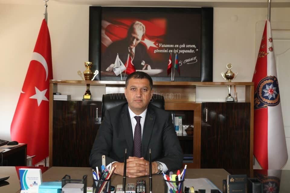 İl Emniyet Müdürü  Melih EKİCİ 'nin 30Ağustos Zafer Bayramı Kutlama Mesajı
