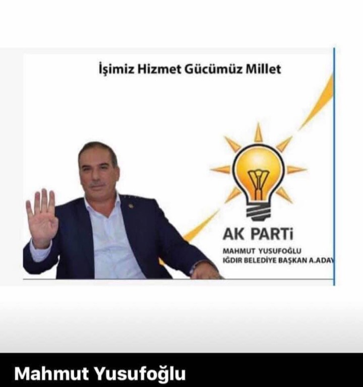 Ak Parti'li Yusufoğlun'dan Öz Eleştiri