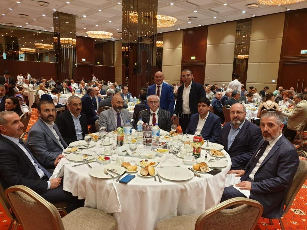 Rektör Alma KAISİAD'ın 9.  Geleneksel İftar Yemeğine Katıldı