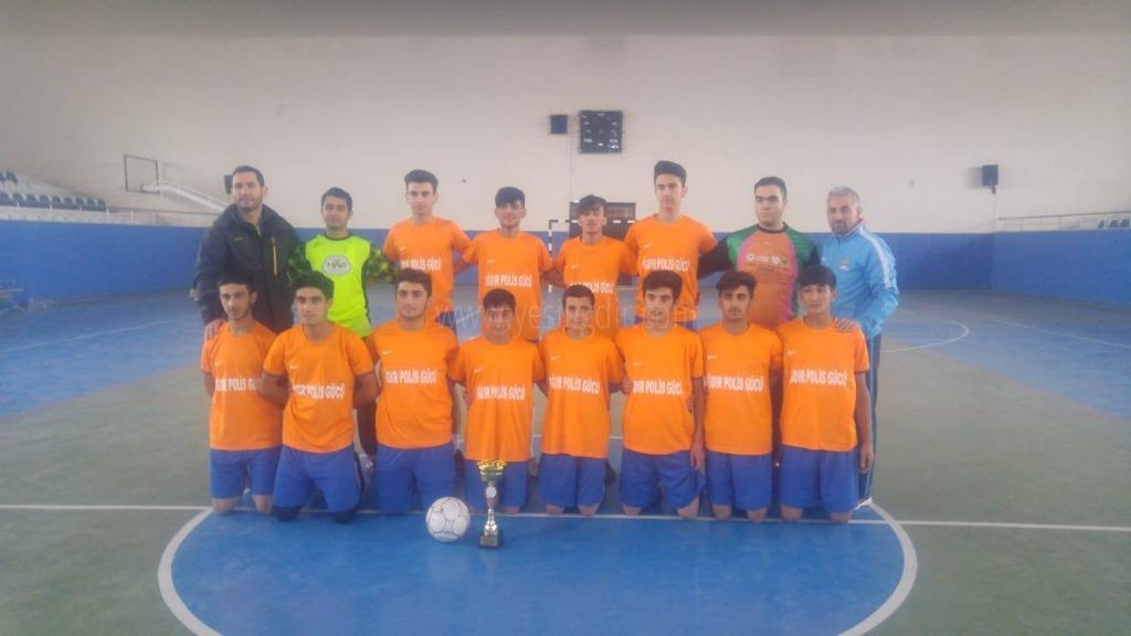 Sosyal bilimler Lisesi Futsalda İl Şampiyonu Oldu