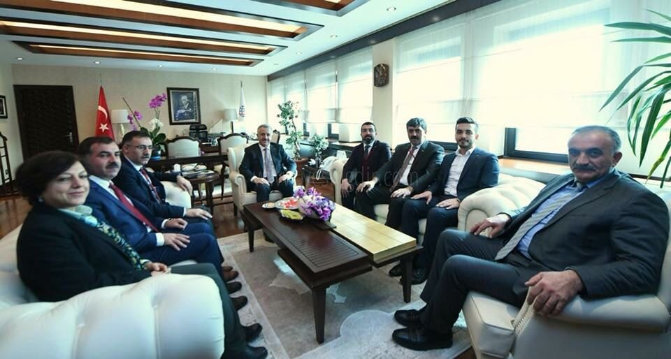 İl Başkanı Tutulmaz, 'Ak Parti 121. İl Başkanları Toplantısı'na Katıldı