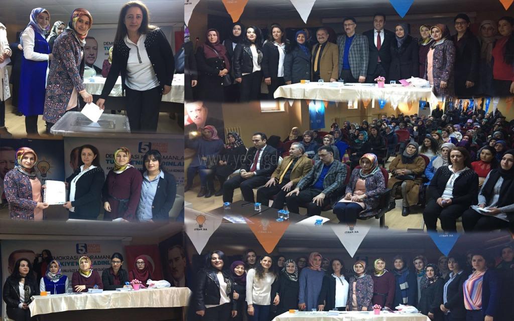 Karakoyunlu ilçesi Ak Parti 5. Olağan Kadın Kolları Kongresi Gerçekleştirildi