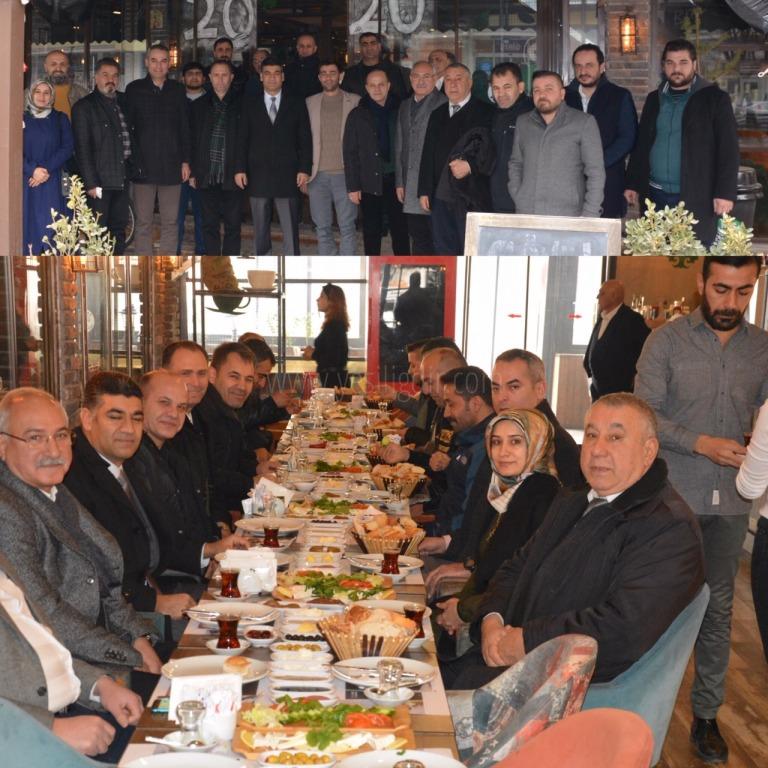 AK Parti Teşkilatı Basınla Buluştu