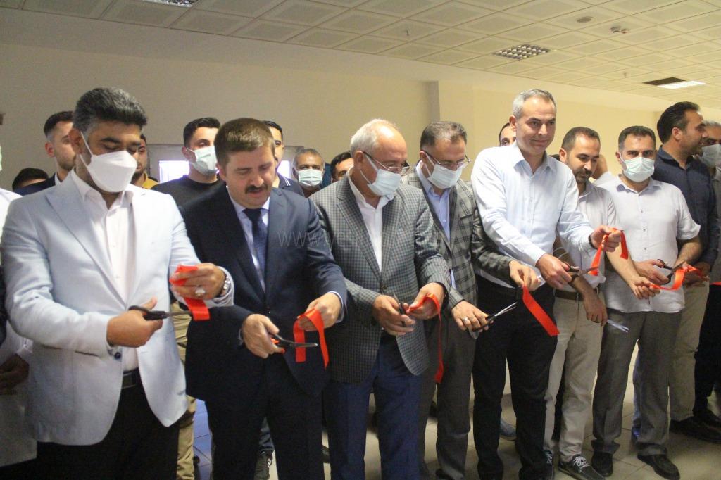 Iğdır Devlet  Hastanesi   Anjiyo ünitesinin açılışı yapıldı.