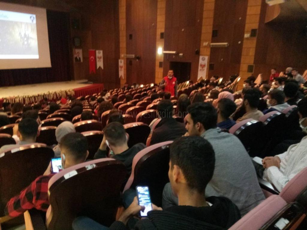 """""""Sen Ben Yok Biz Varız"""" Projesinde Öğrenciler Bir Araya Geldi"""