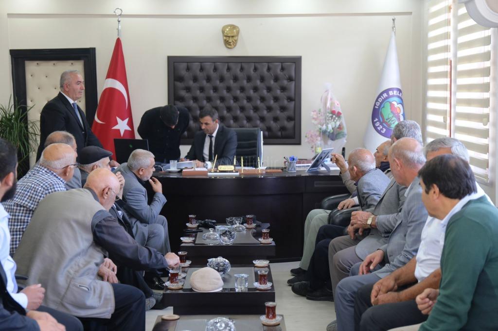 Atatürk Mahallesin'den  Başkan Yaşar Akkuş'a Ziyaret