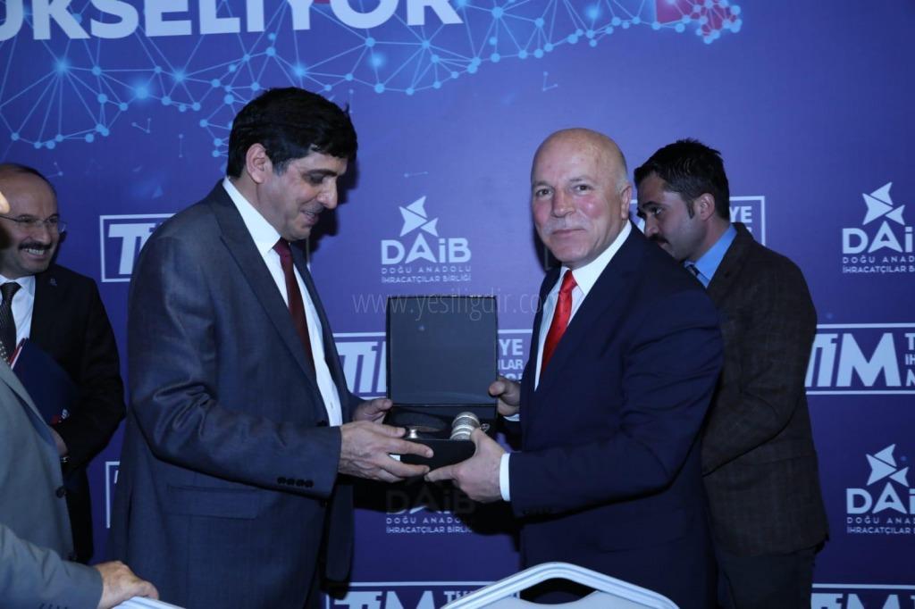 Rektör Alma, TİM Doğu Anadolu  Meclisi Erzurum Toplantısına Katıldı