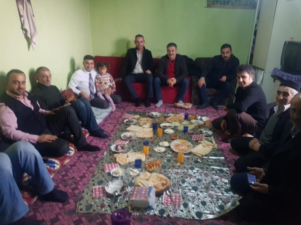 Ak Parti İl Başkanı Ali Kemal Ayaz,  Ayrı Ailesini Ziyaret etti