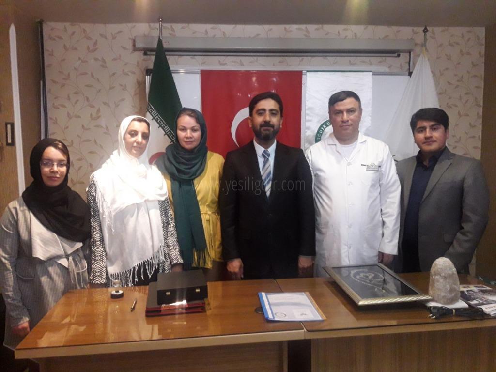 Charkhe Niloufari Azarbaijan Üniversitesi ile Iğdır Üniversitesi Arasında İşbirliği Protokolü İmzalandı