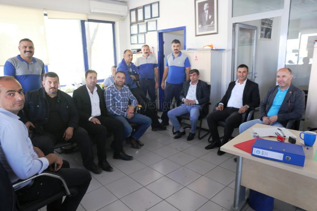 Iğdır Belediye  Başkanları ve Meclis üyeleri TÜV TÜRK'ü ziyaret etti
