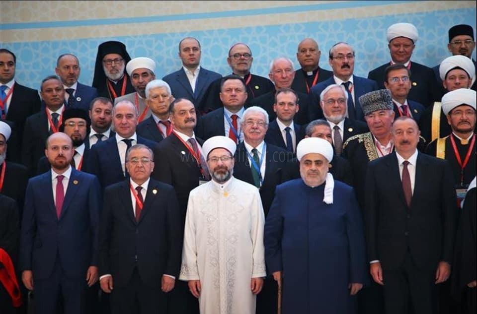 Bakü Dini Liderlere Ev Sahipliği Yaptı