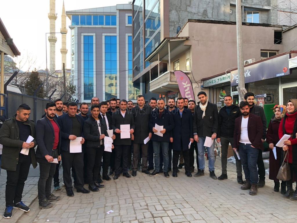 Ak Gençler, Afrin'e Gitmek İçin Askeri Şubeye Başvurdu