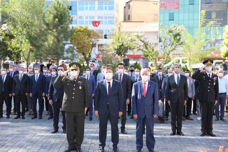 19 Eylül Gaziler Günü Münasebetiyle Atatürk Anıtına Çelenk Sunma Töreni Düzenlendi