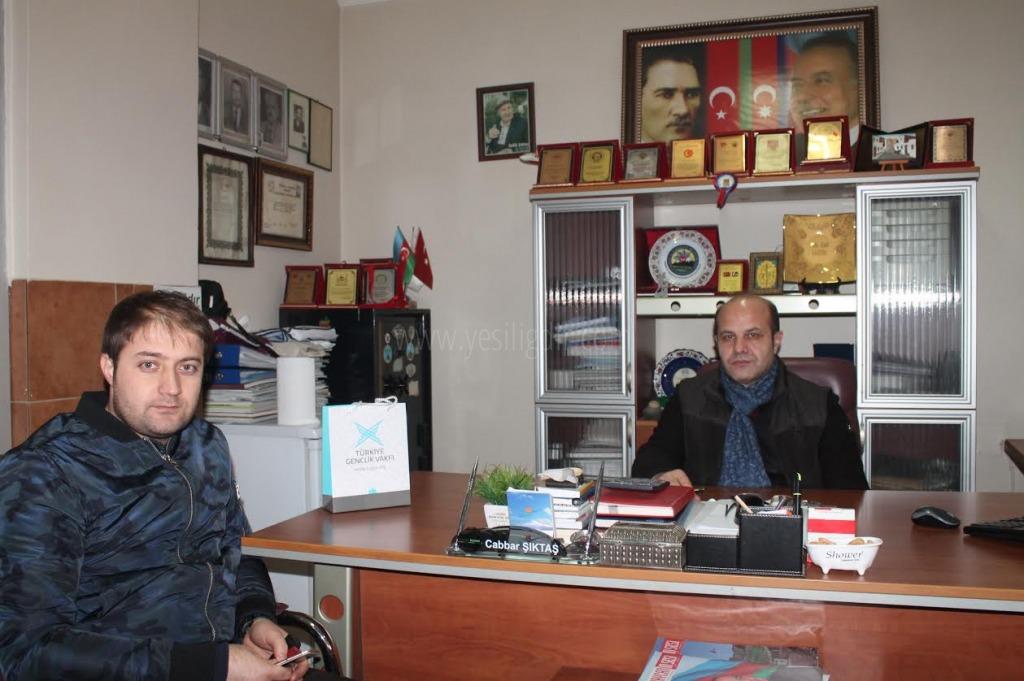 Türkiye Gençlik Vakfı Temsilcisinden 10 Ocak Ziyareti